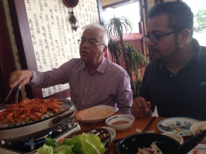 Learning Korean from my father-in-law