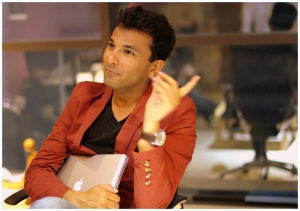 Vikas Khanna - working in 2 different time zones