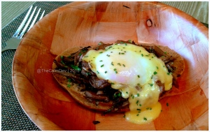 Mushroom Toast with Poached Egg