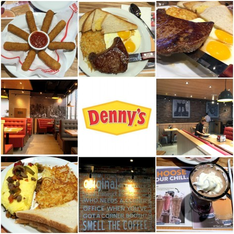 The all American diner experience at Denny's