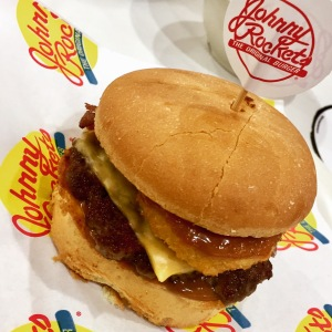 Smokehouse Burger from Johnny Rockets
