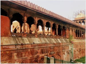 The Red Sandstone Jama Masjid
