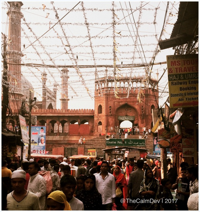 Jama Masjid on Eid